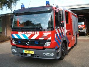 Tankautospuit Brandweer Nederweert