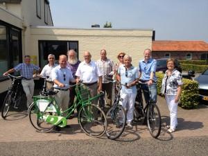 foto fietstocht 27-7-12