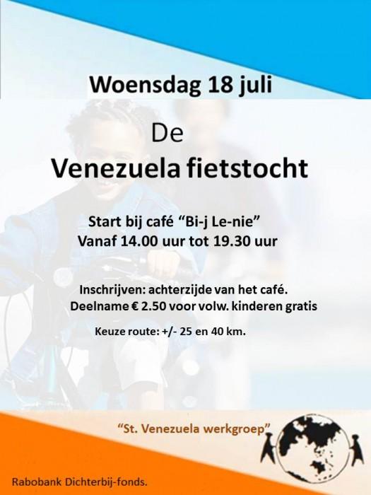 Venezuela fietstocht