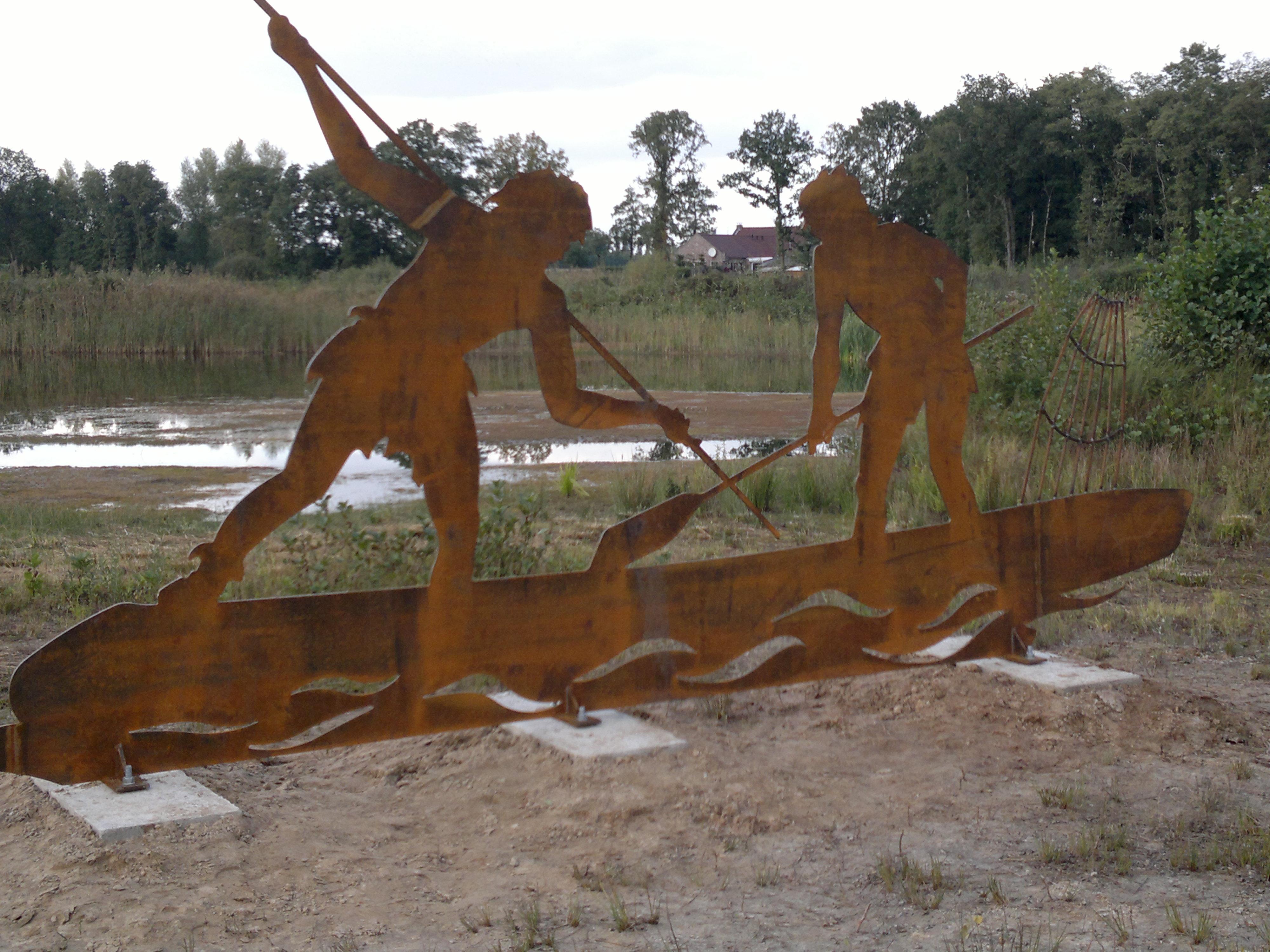 Onthulling monument Sarsven en de Banen