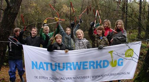 Jaarlijkse natuurwerkdag in Nederweert