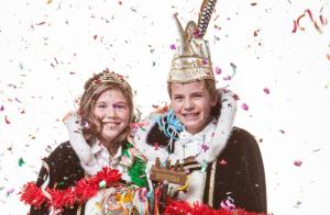 Lars Raemakers Kirsten Duijts zijn Jeugdprinsenpaar van V.V. de Pinmaekers