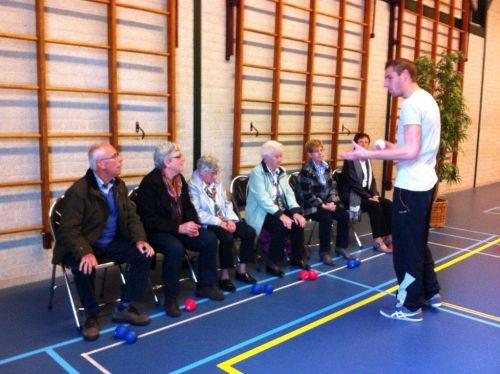 Boccia voor ouderen in Nederweert
