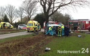 Traumahelikopter naar zwaar ongeval Zwarteboordweg Ospel 462