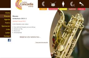 Fanfare Concordia Leveroy website
