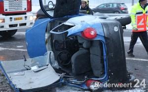 Ongeval met beknelling A2 Nederweert 542