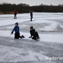 schaatsen, sarsven en de banen, nederweert, spelende kinderen