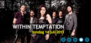 Within Temptation op Bospop 2013