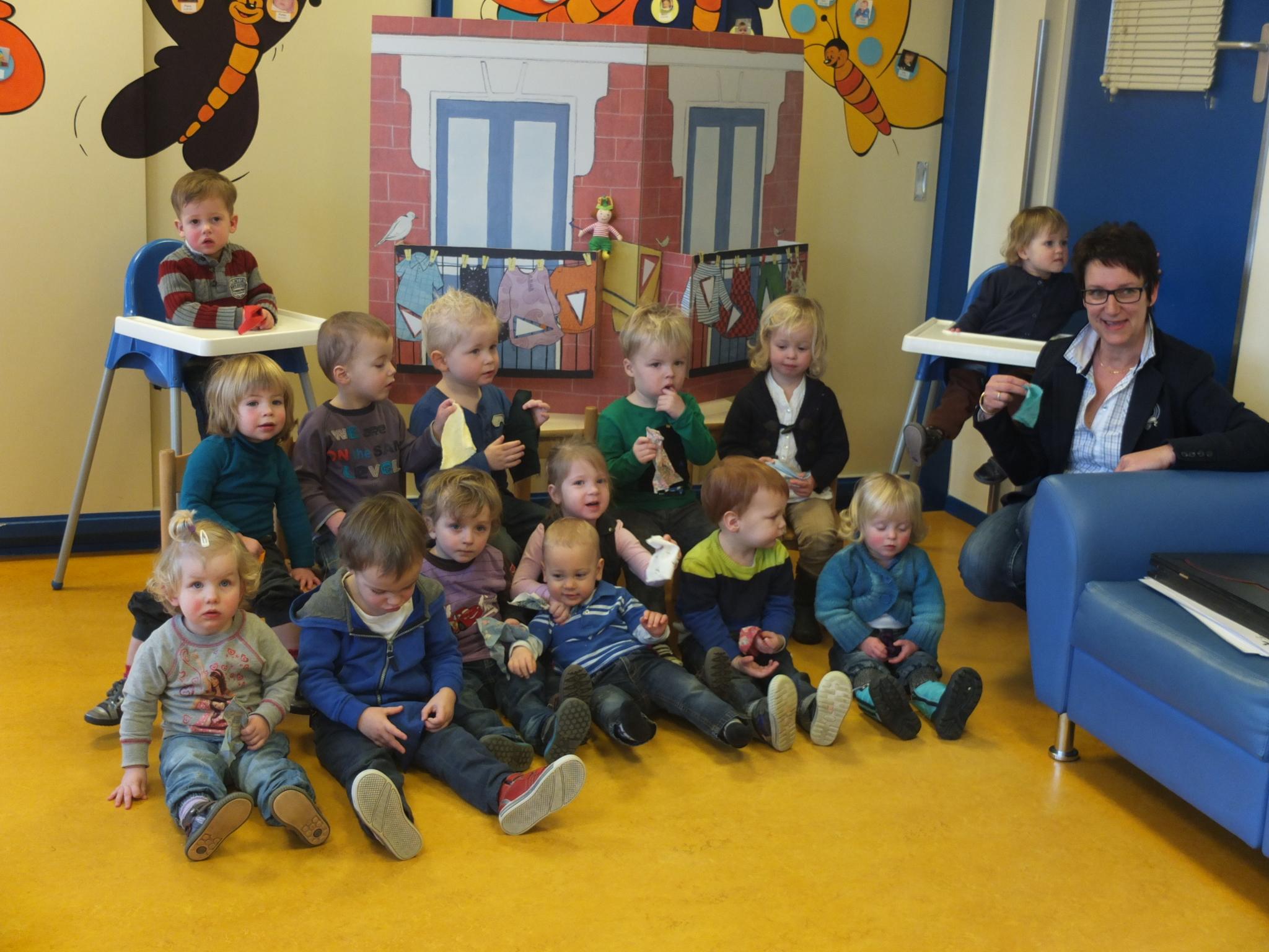Nationale voorleesdagen bij Kinderopvang