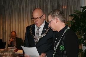 Peter van Lierop geïnstalleerd als raadslid van de gemeente Nederweert