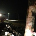 Vrachtwagen total loss Venloseweg