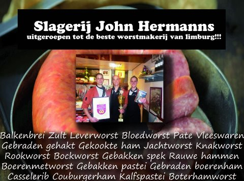 John Hermanns beste worstmakerij van Limburg