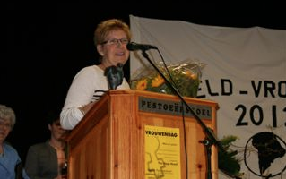 Anneke van Heugten Vrouw van het Jaar 2012