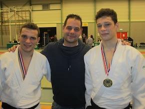 Edwin en Maurice Peters plaatsen zich voor NK Judo