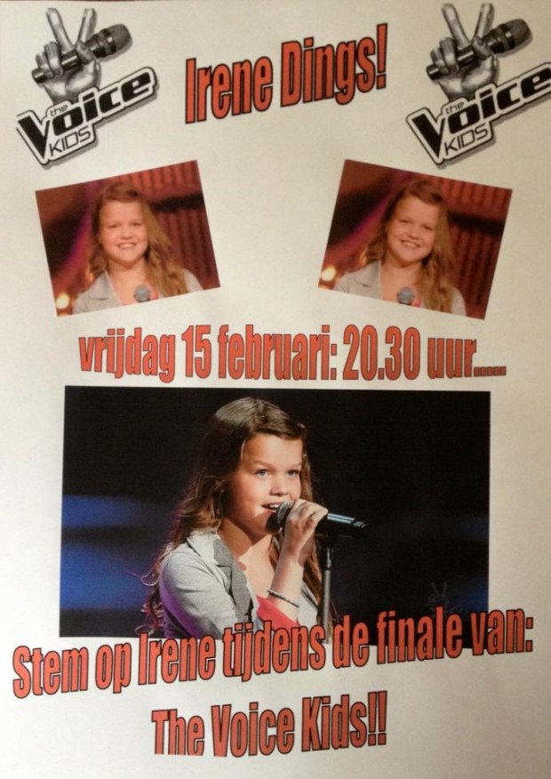 Irene Dings The voice Kids