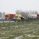 Ongeval A2 voor afslag Nederweert 1272