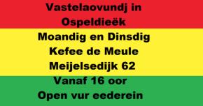 Vastelaovendj op Ospeldijk