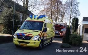 Vanmiddag heeft de brandweer van Nederweert ondersteuning verleend aan de ambulancedienst.