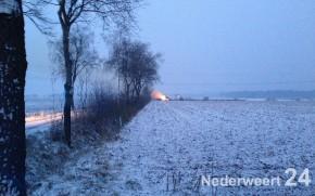 Brand Laarderheideweg Nederweert