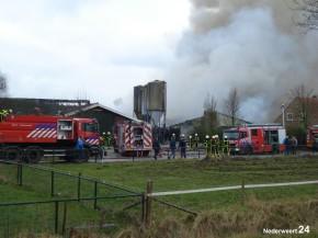 Grote brand Heijsterstraat 01-03-2013