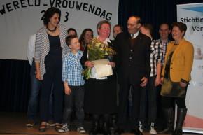 Maria van Nieuwenhoven Vrouw van het Jaar 2013 Nederweert