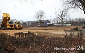 Parkeerplaats sportpark Ospel uitgebreid 1578