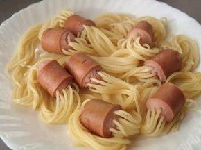 Pasta Germania met rucolasalade
