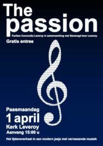 Fanfare Concordia Leveroy vertolkt The Passion