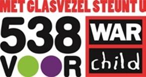 Reggefiber steunt actie 538 voor War Child