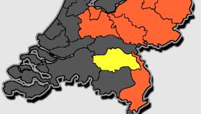 Code oranje in Midden-Limburg