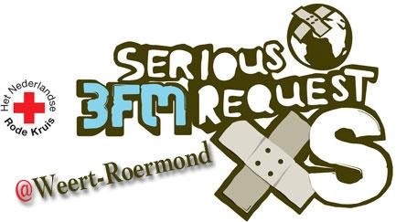 Roermond met Weert samen kandidaat 3FM Serious Request