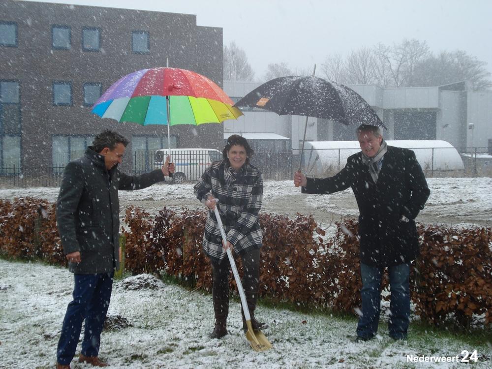 Start aanleg glasvezel bedrijventerrein Pannenweg Nederweert