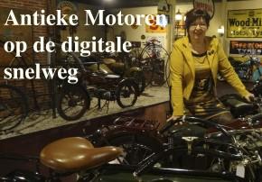 Antieke motoren op de digitale snelweg