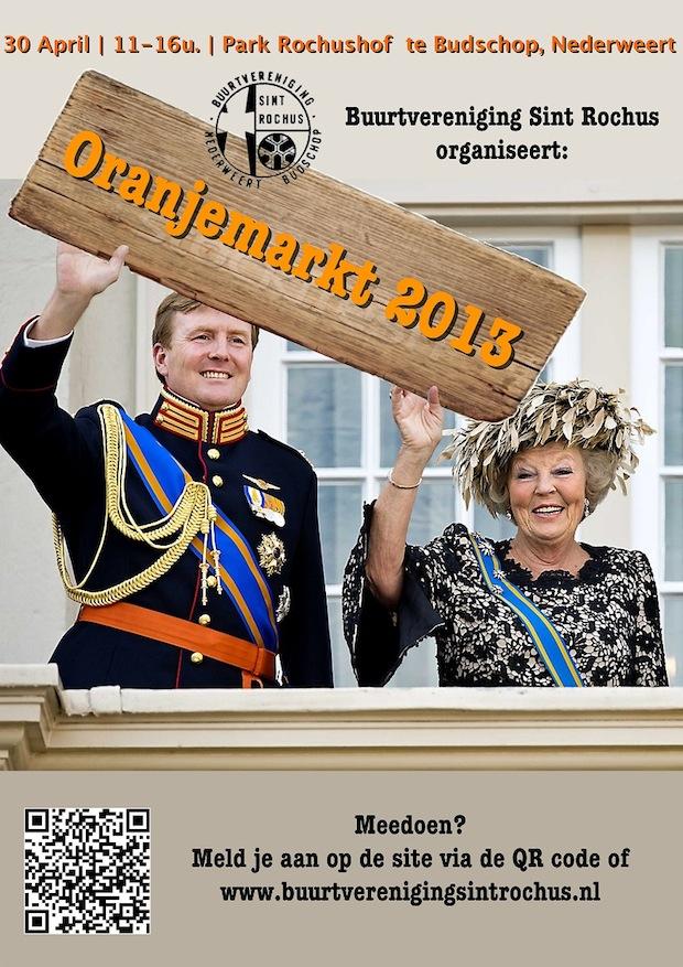 Oranjemarkt 2013 Poster LowRes