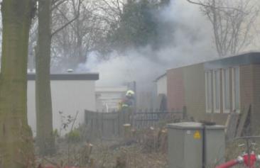 Hennepkwekerij ontdekt door brand in schuur