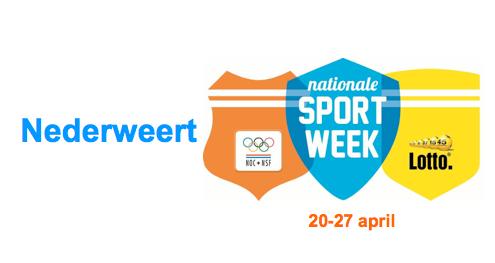 Nationale Sportweek Nederweert