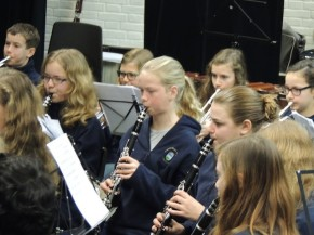 Jeugd Harmonie St. Joseph uitstekend optreden