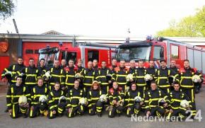 Groepsfoto's Brandweer Nederweert