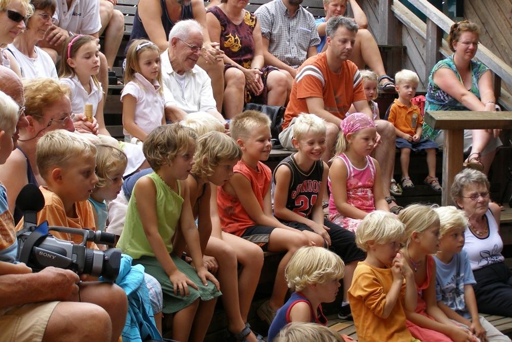 Buitencentrum kindertheater