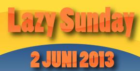 Nederweert doet mee aan Lazy Sunday