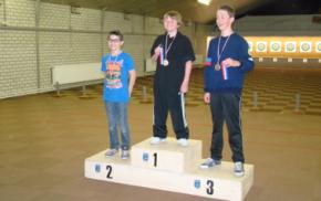 René Janssen tweede Nederland kampioenschappen handboogschieten