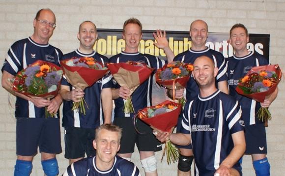 VC Fortutas heren winnen bekerfinale