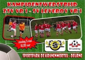 Kampioensfeest dames SV Leveroy