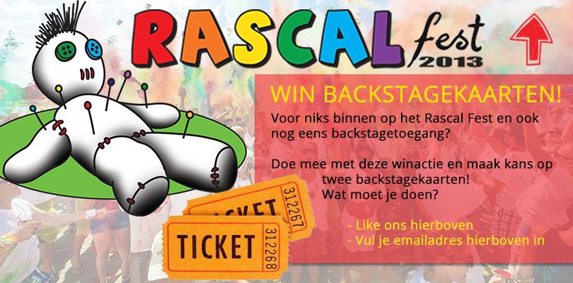 Win 2 kaarten voor RascalFest