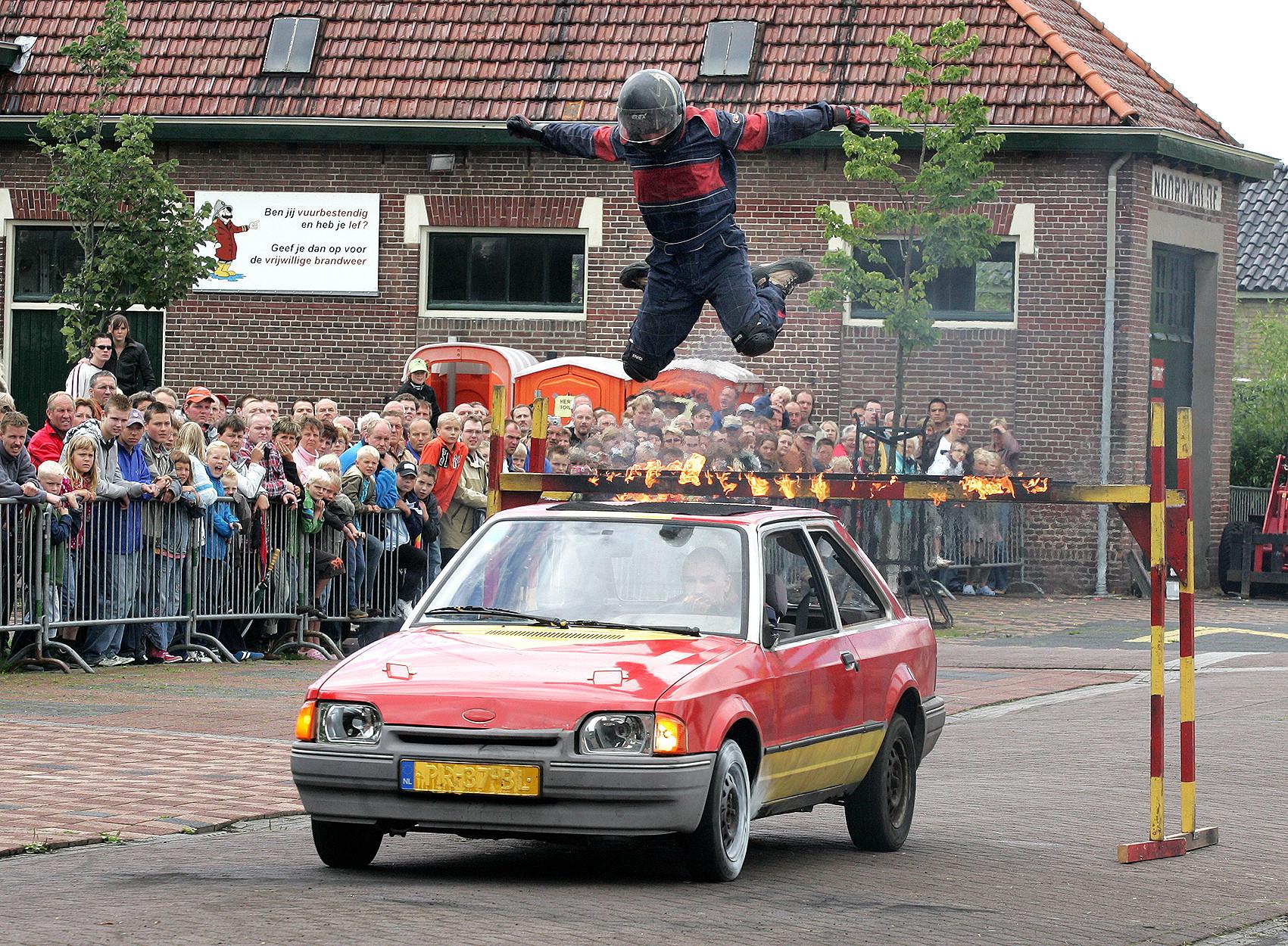 Spectaculaire stuntshow Daring Dantes én Big Benny