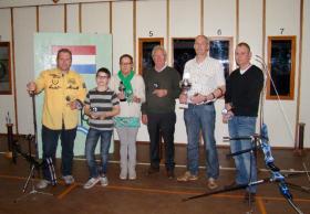 Handboogvereniging Willem Tell het Koningsschieten 2013