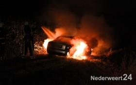 Autobrand Kruisstraat Nederweert Eind