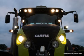 Demonstratie Claas