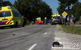 Mountainbiker zwaar gewond in Swartbroek Weert op de Ittervoorterweg