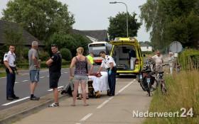 Ongeval N279 Roggel richting Meijel. Donk - Roggelsedijk Meijel